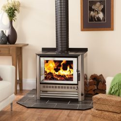 HeatCharm C500 Freestanding Wood Fireplace