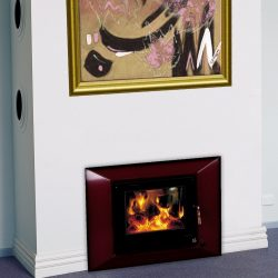 Heat Charm I500 Series 6 Inbuilt Wood Fireplace