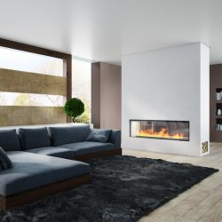 Axis H1600XXL Double Sided Inbuilt Wood Fireplace