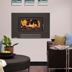 Heat Charm I600 Series 7 Inbuilt Wood Fireplace
