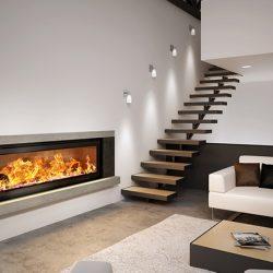 Axis H1600XXL Inbuilt Wood Fireplace