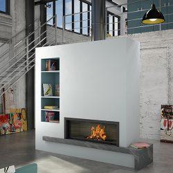Axis H1600 Inbuilt Wood Fireplace