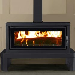 Kent Fairlight Freestanding Wood Fireplace