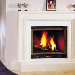 Seguin Multivision 8000 Cast Iron Cheminee Fireplace