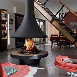 Bordelet Eva 992 Suspended Wood Fireplace