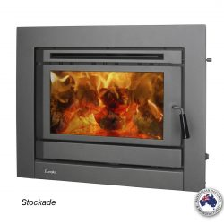 Eureka Stockade Inbuilt Wood Fireplace
