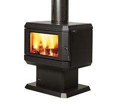 Regency Albany Freestanding Wood Fireplace