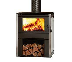 Regency Alterra Freestanding Wood Fireplace