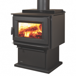 Regency Richmond Hybrid Freestanding Wood Fireplace