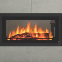 Regency Mansfield Double Sided Inbuilt Wood Fireplace