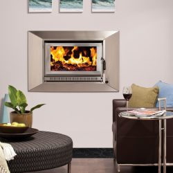 Heat Charm I600 Series 6 Inbuilt Wood Fireplace