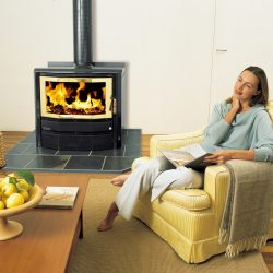 Heat Charm C600 Port Phillip Freestanding Wood Fireplace