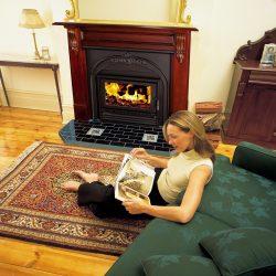 Heat Charm Victorian Inbuilt Wood Fireplace I500 & I600
