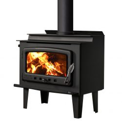 Nectre Mk 1 Freestanding Wood Fireplace