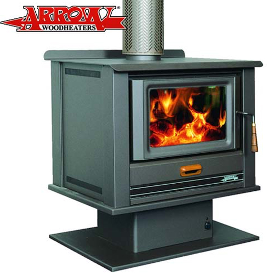 Arrow 1800 Freestanding Wood Heater - Hawkesbury Heating