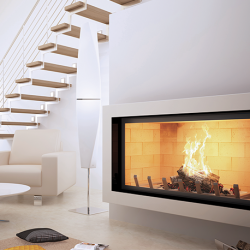 Axis H1400 Inbuilt Wood Fireplace