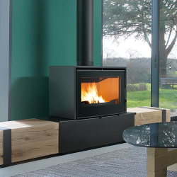 Axis I1000 Freestanding Wood Fireplace