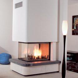 Axis EPI950 Inbuilt Wood Fireplace
