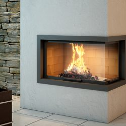 Axis H1200 VLD Inbuilt Wood Fireplace
