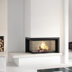 Axis H1200 VLG Inbuilt Wood Fireplace