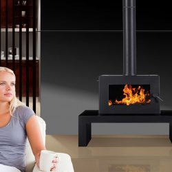 Blaze B905 Freestanding Wood Fireplace