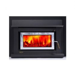 Clean Air Large Insert Inbuilt Wood Fireplace