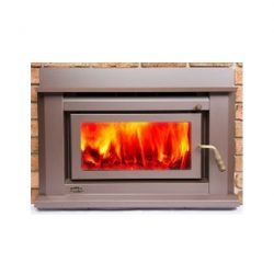 Clean Air Small Insert Inbuilt Wood Fireplace