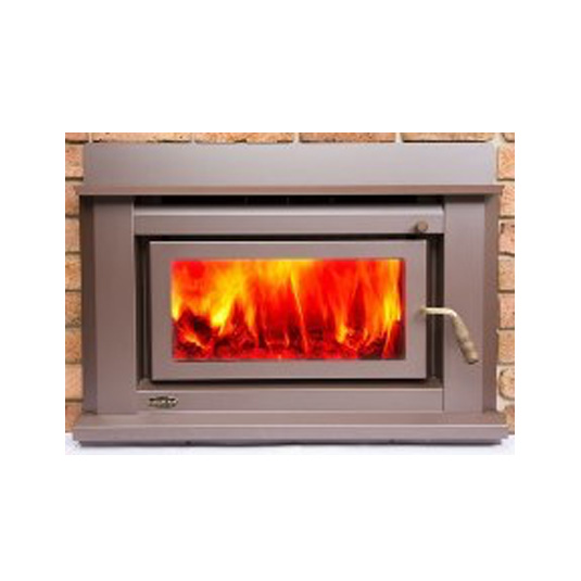 Clean Air Small Insert Inbuilt Wood Fireplace Hawkesbury