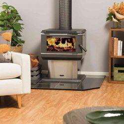 Coonara Midi Freestanding Wood Fireplace