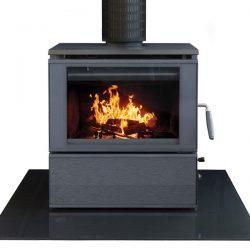 HeatCharm C500 Series 8 Freestanding Wood Fireplace