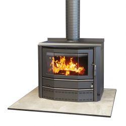 Heat Charm C600 Port Phillip Freestanding Wood Fireplace