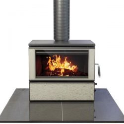 Heat Charm C600 Series 8 Freestanding Wood Fireplace