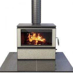 Heat Charm C600 Series 8 Freestanding Wood Fireplace