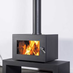 Blaze B605 Freestanding Wood Fireplace