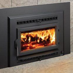 Lopi Flush Wood Small Hybrid Inbuilt Wood Fireplace