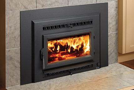 Lopi Flush Wood Small Hybrid Inbuilt Wood Fireplace Sale