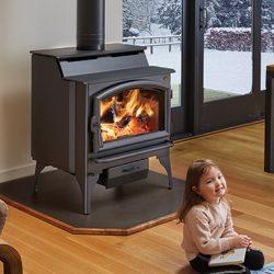 Lopi Liberty 2020 Freestanding Wood Fireplace SALE