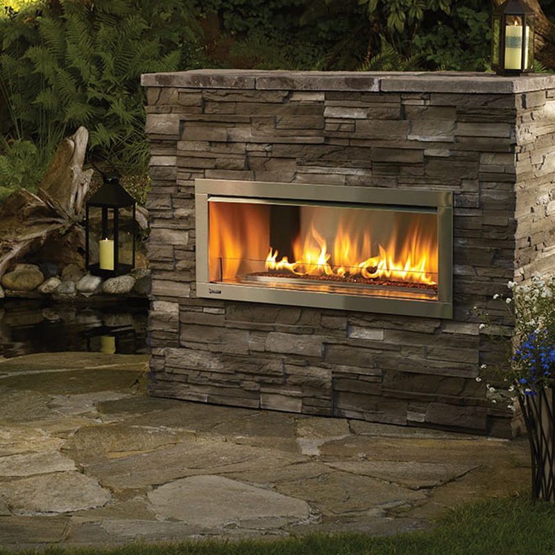 Regency HZO42 Outdoor Gas Fireplace - Hawkesbury Heating