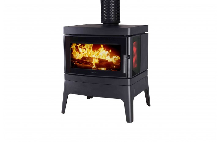 Clean Air Small Console Freestanding Wood Fireplace Hawkesbury Heating