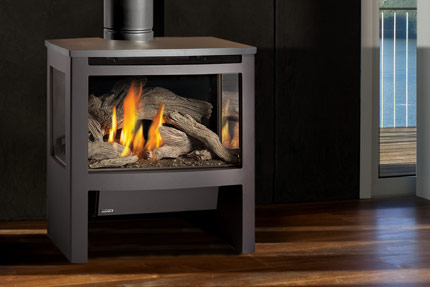 Lopi Cypress Freestanding Gas Fireplace - Hawkesbury Heating