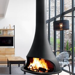 Bordelet Tatiana 997 Suspended Wood Fireplace