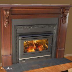 Eureka Victorian Inbuilt Wood Fireplace