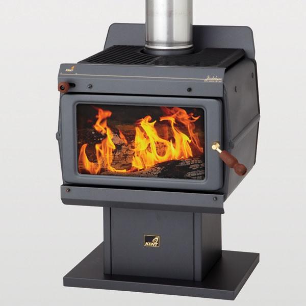 Kent Jindabyne Freestanding Wood Fireplace Hawkesbury