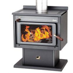 Kent Somerset Freestanding Wood Fireplace