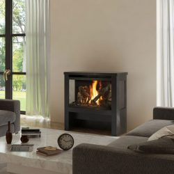 Lopi Cypress Freestanding Gas Fireplace SALE