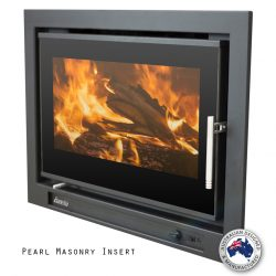 Eureka Pearl Inbuilt Wood Fireplace