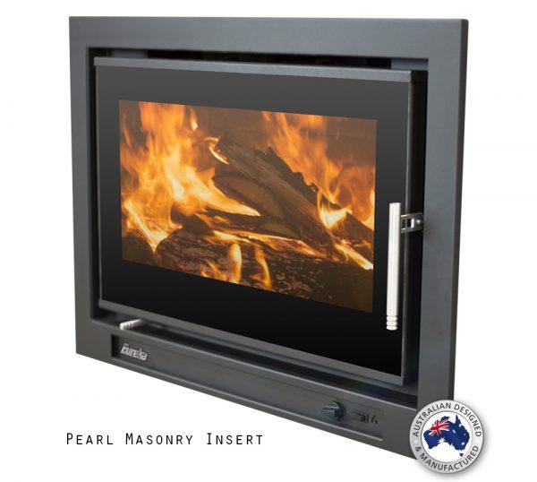Eureka Pearl Inbuilt Wood Fireplace Hawkesbury Heating
