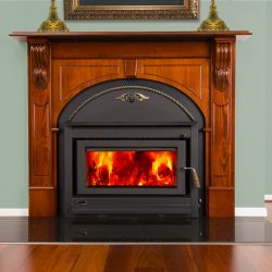 Clean Air Large Victorian Inbuilt Wood Heater