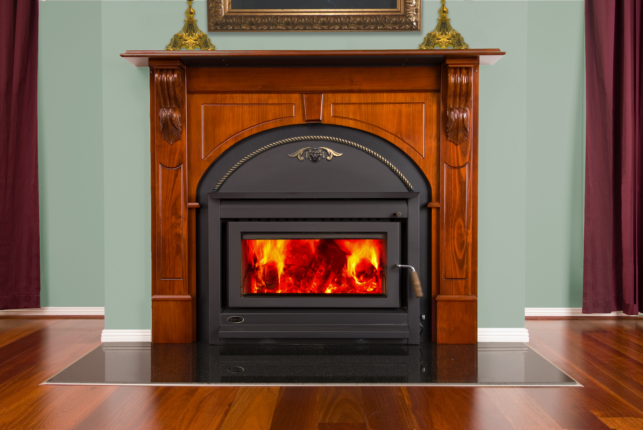 Clean Air Large Victorian Inbuilt Wood Heater Hawkesbury