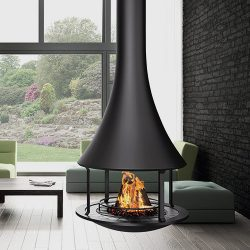 Bordelet Zelia 908 Suspended Wood Fireplace